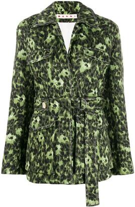 Marni Wild print bomber jacket