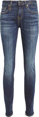 R 13 Alison Distressed Skinny Jeans