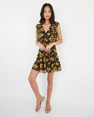 Paige Barbarella Dress-Turmeric - Poppy Meadow
