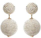 Amrita Singh Dotted Chain Bon Bon Drop Earrings