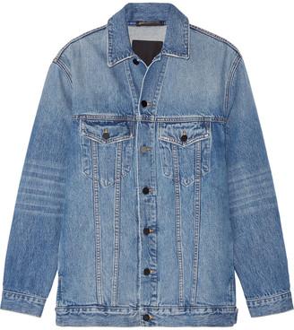 Alexander Wang Daze Oversized Denim Jacket