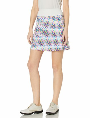 Cutter & Buck Women's Moisture Wicking 50+ UPF Pull on Stretch Skort with Lining