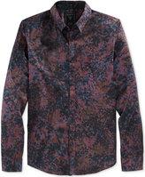 GUESS Men's Long-Sleeve Howell Floral-Print Shirt