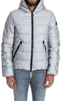 Hydrogen Men's Silver Polyester Down Jacket.