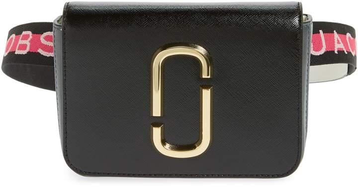 Marc Jacobs Hip Shot Convertible Leather Belt Bag