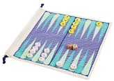 Sunnylife Travel Backgammon & Checkers Set