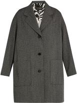 Isabel Marant Jagger oversized wool-herringbone duster coat