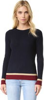 Chinti and Parker Rib Color Block Sweater