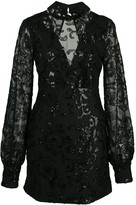 Alexis Franciska embellished mini dress