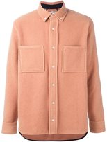 Tim Coppens worker shirt - men - Cotton/Polyamide/Angora/Virgin Wool - S