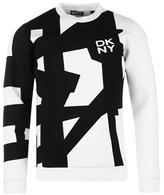 Dkny Bridge Logo Crew Sweater