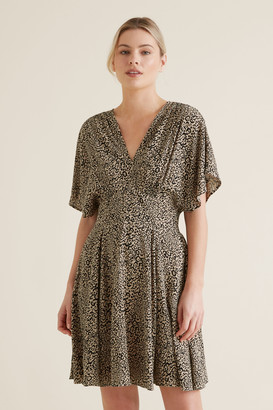 Seed Heritage Animal Print Swing Dress