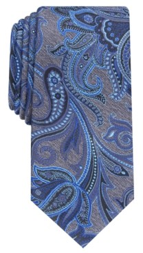 Perry Ellis Men's Carver Paisley Tie