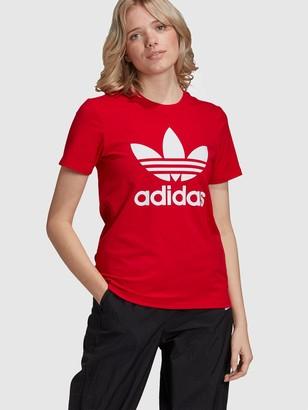 adidas Trefoil Tee - Red