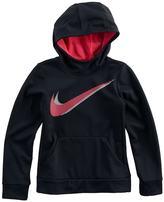 Nike Girls 7-16 Swoosh Therma Fleece Hoodie
