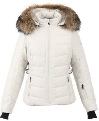Oakwood Competition Beige Ski Jacket - Large - Natural/Brown