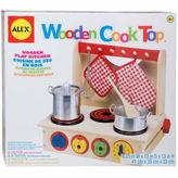 Alex Wooden Cook Top Play Kitchen