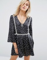 Chandelier Star Print Dress