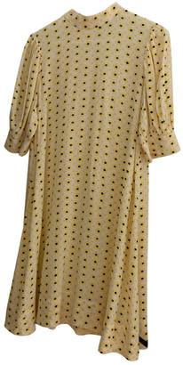 Ganni Spring Summer 2019 Yellow Viscose Dresses