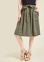 ModCloth Capsule Collection Midi Skirt in XL