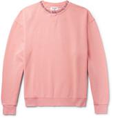 Acne Studios Yana Printed Loopback Cotton-Jersey Sweatshirt