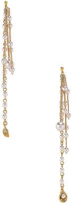 joolz by Martha Calvo Pearl Shaker Earrings