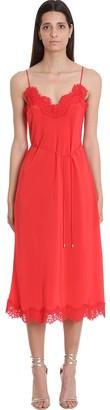Zimmermann Dress In Red Silk