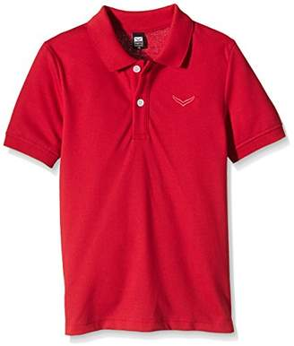 Trigema Unisex Polo Shirt Red Rot (kirsch 036) (8 Years)