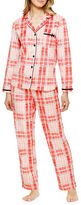 Ellen Tracy Boxed Abstract Printed Two-Piece Pyjama Set