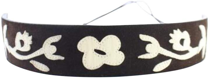 Dolce & Gabbana Black Leather Belts