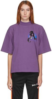 Palm Angels Purple Small Air Boxy T-Shirt