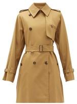 Max Mara Attuale Trench Coat - Womens - Tan