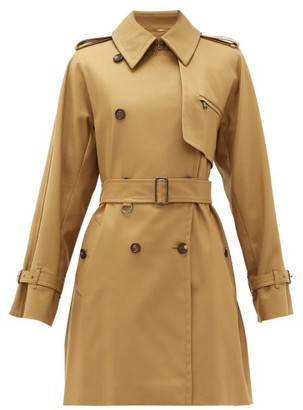 Max Mara Attuale Trench Coat - Womens - Tan