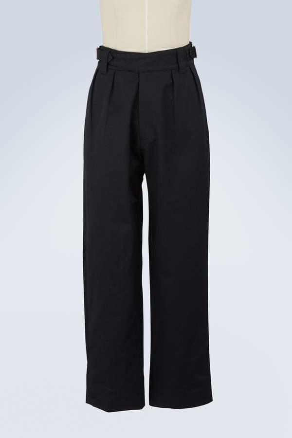 MAISON KITSUNÉ Worker pants