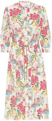 Peter Pilotto Printed crepe shirt dress