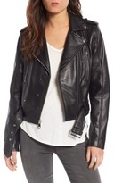 Sam Edelman Women's Starburst Studded Crop Moto Jacket