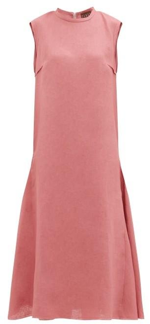 ALBUS LUMEN Agaso Sleeveless Linen Dress - Pink