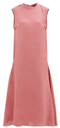 ALBUS LUMEN Agaso Sleeveless Linen Dress - Pink