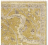Williams-Sonoma Williams Sonoma Shah Hand Knotted Rug, Yellow