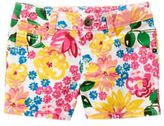 Crazy 8 Floral Jean Shorts