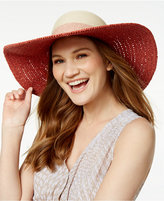 Vince Camuto Colorblock Floppy Hat
