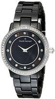 N. Claude Bernard Women's 20203 NA Dress Code - Quartz Analog Display Swiss Quartz Black Watch
