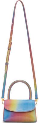 BY FAR Multicolor Rainbow Mini Bag