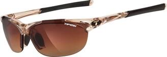 Tifosi Eyewear Tifosi Wisp Crystal Brown Interchangeable Sunglasses