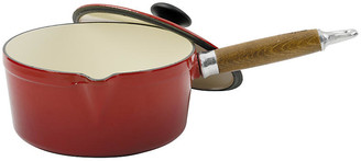 Chasseur Cast Iron Sauce Pan - Red - red/natural/silver