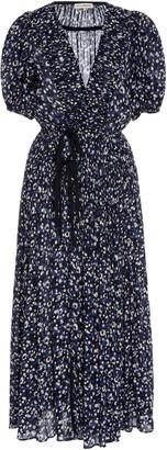 Ulla Johnson Kemala Puffed-Sleeve Cotton Dress