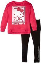 Hello Kitty Leggings Set (Toddler/Kid) - Fuchsia Purple - 5