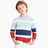 J.Crew Boys' cotton striped crewneck sweater