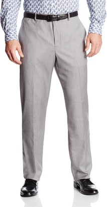 Perry Ellis Men's Big and Tall Texture PVL Suit Pant