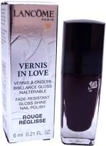 Lancôme Paris Vernis In Love Gloss Shine Nail Polish 473N Rouge Reglisse